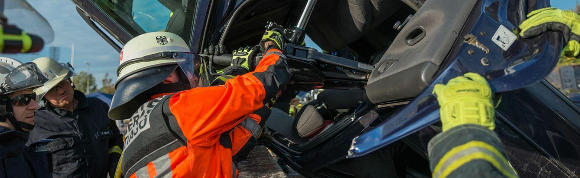 Weber Rettungswerkzeug im Einsatz